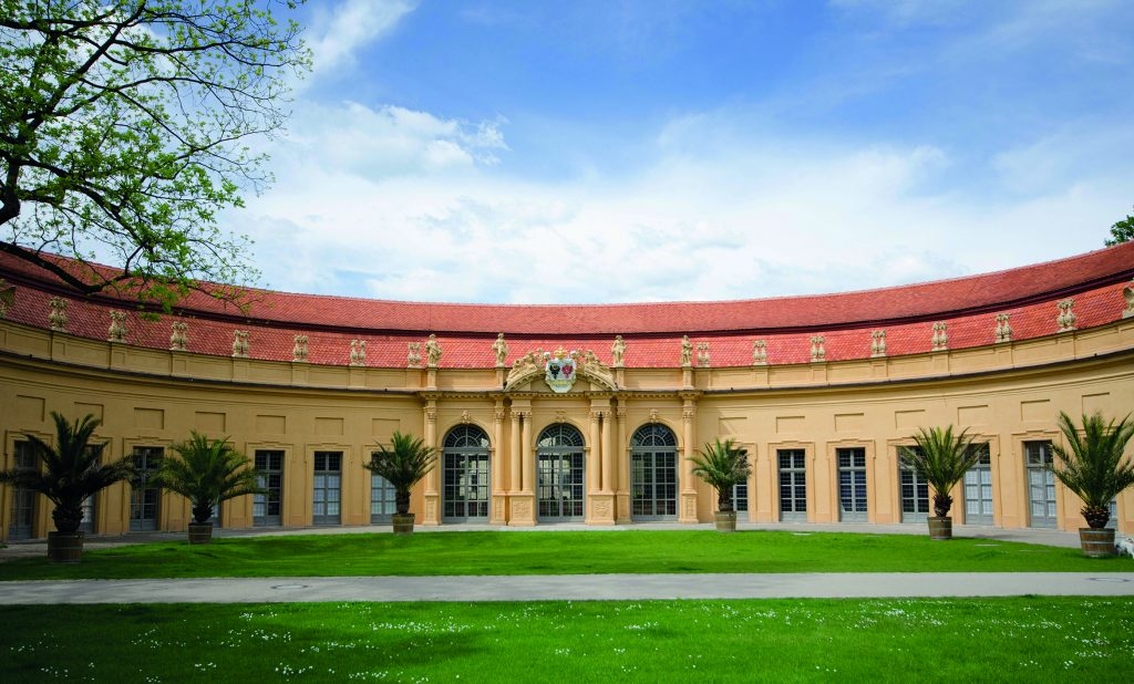 Wassersaal Orangerie in the Schloss garden (© Thomas Dettweiler)