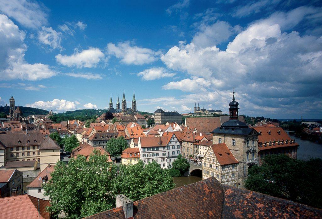 View from Schloss Geyerswörth (© Feldrapp-Pics)
