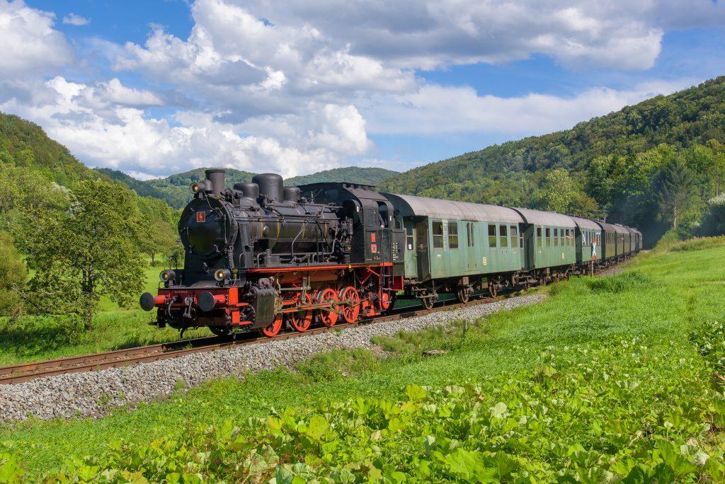 Dampfbahn steam locomotive (© Dampfbahn Fränkische Schweiz e.V.)